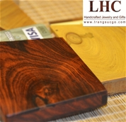 Hộp Name Card Gỗ Trắc Đỏ - Red Rosewood Business Card Holder